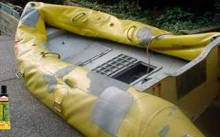 Клей для ПВХ и резиновых лодок: выбор и применение