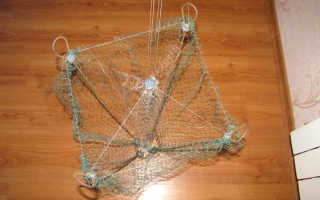 Как изготовить хапугу или рыболовный зонт своими руками?