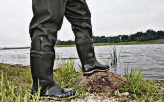 Обувь для рыбалки, какая она должна быть