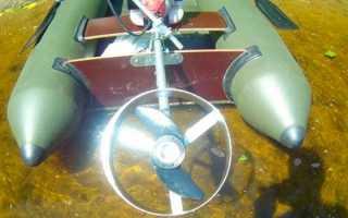 Лодочный мотор своими руками: изготовление из триммера и шуруповерта