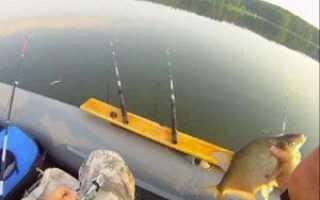 Снасть кольцо для ловли с лодки: монтаж и изготовление своими руками
