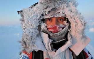 Ловля рыбы в мороз