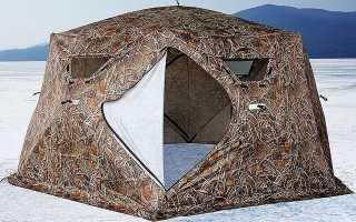 Как выбрать зимнюю палатку зонтик, лучшие модели, отзывы рыбаков