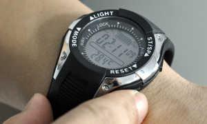 Casio — производитель часов для рыболова